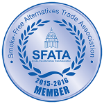 SFTA LOGO, Smoke, Free, Trade, Association